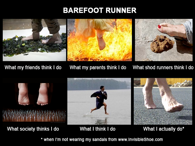 What Barefoot Runners Really Do