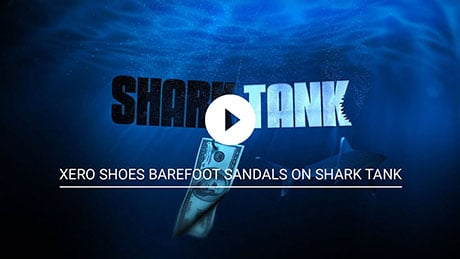 Click to watch the video clip of Xero Shoes Barefoot Sandals On Shark Tank