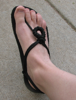 The Phoenix Flower Barefoot Sandal Tying Style Xero Shoes