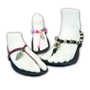 barefoot sandal decorations