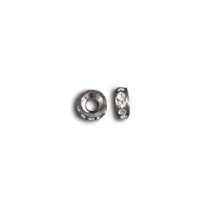 Crystal Rondelle Xero Shoes bead