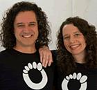 Lena Phoenix and Steven Sashen from Xero Shoes Barefoot Sandals