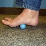 massage and strengthen your feet golf ball