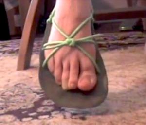 No toe tying huaraches by Sonja