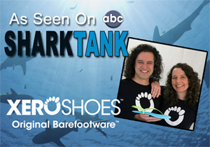 Xero Shoes Barefoot Running Sandals on Shark Tank