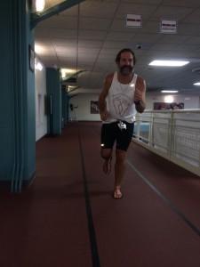william nichols barefoot sandal biathlon