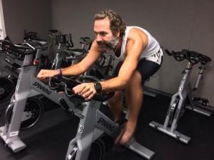 William Nichols Barefoot Biathlon - Bike