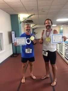 frank and william - barefoot running sandal biathlon