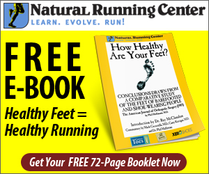 healthy barefoot running book