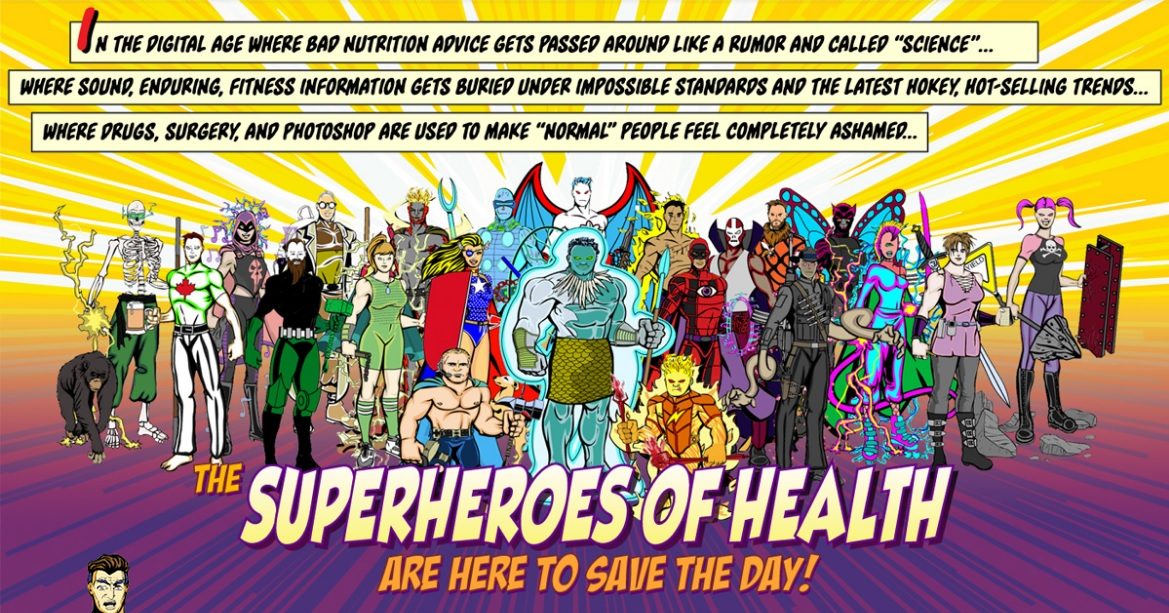The Superheroes of Health