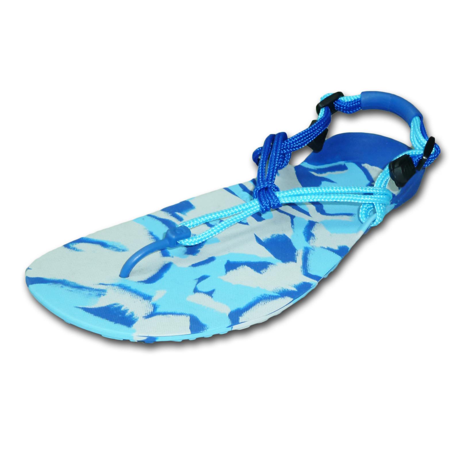 Xero Shoes Ocean Camo Barefoot Running Sandal