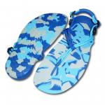 Xero Shoes Ocean Camo Barefoot Running Sandal Pair