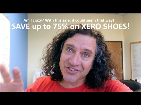 Video thumbnail for youtube video Our BIGGEST SALE EVER on barefoot sandals - Xero Shoes