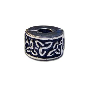 Silver Tri-knot