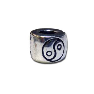 Silver Yin Yang