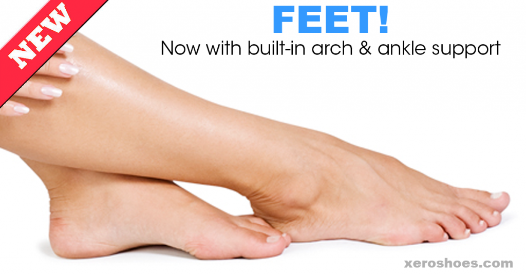 Feet With Built In Support