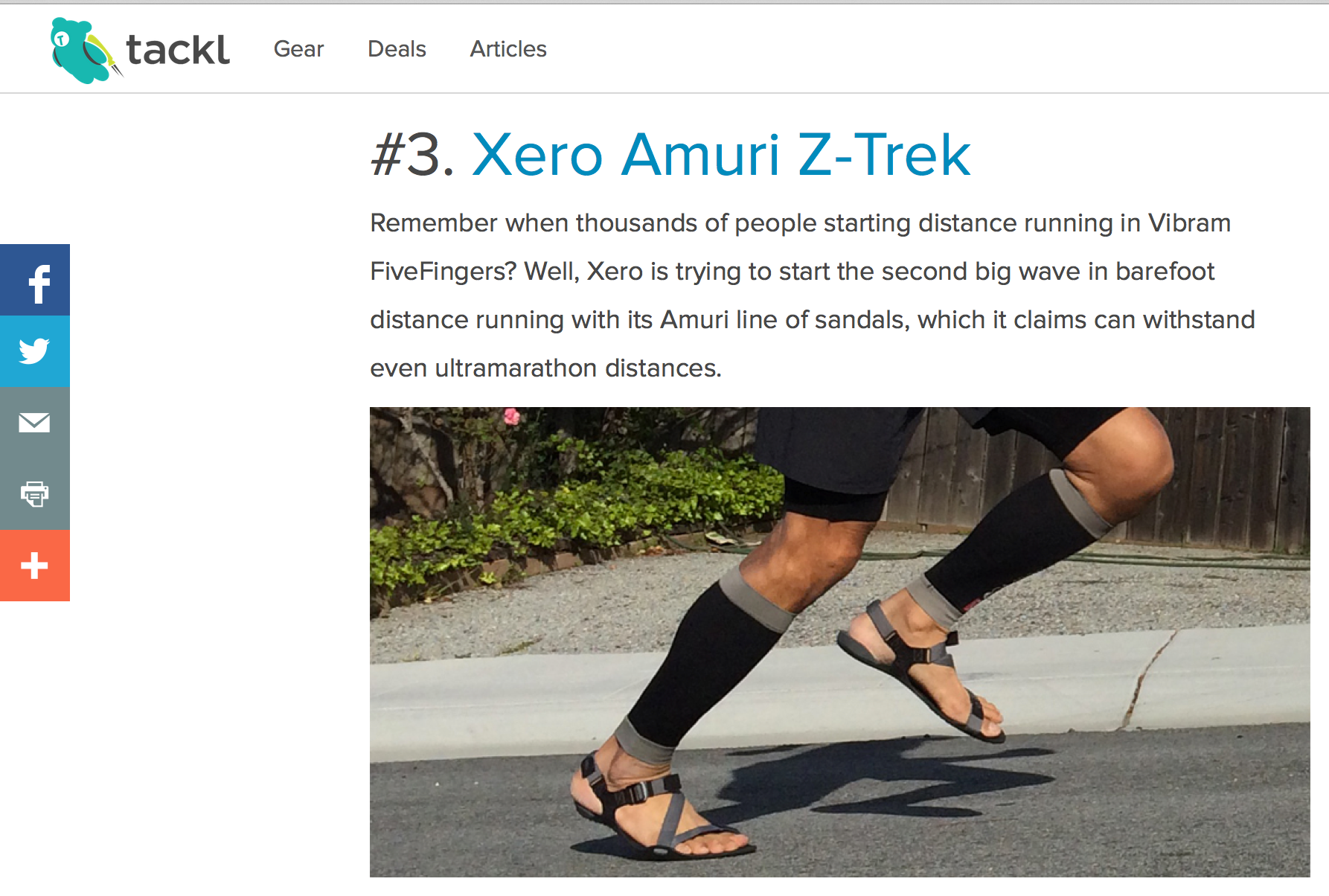 Are Z-Trek CRAZY running shoes?