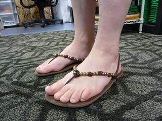 huarache style running sandals