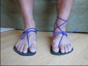 how to wear tarahumara sandals