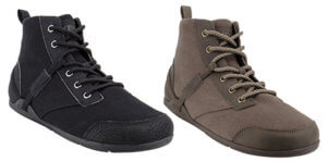 canvas men's barefoot boot