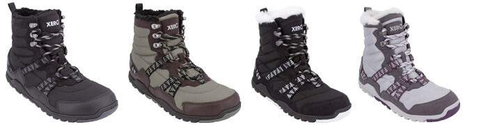 minimalist barefoot insulated winter snow boot