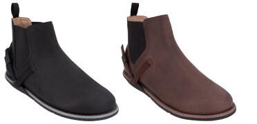 barefoot minimalist Chelsea boot